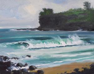 Allerton Beach, Kauai, 16x20