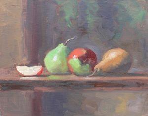 Apple Slice & Pears, 11x14