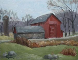 Barn at Garrison, 11x14