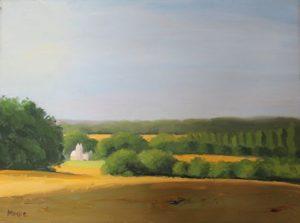 Bayeux at Dawn, 12x16