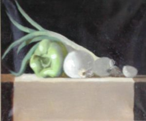 Bell Pepper with Onions, 11x14