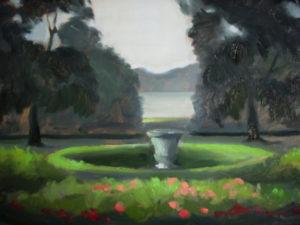 Boscobel Garden, 14x16