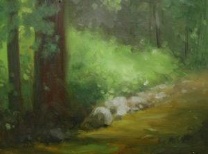 Creek near Canopus Hollow, 8x10