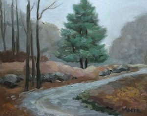 Evergreen at Cold Spring, 11x14