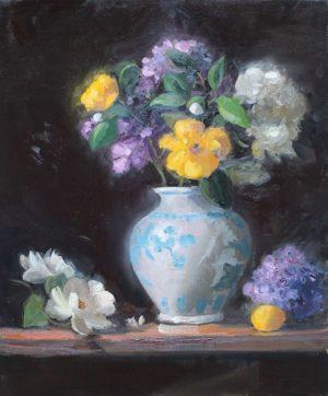 Floral with Lemon, 24x20