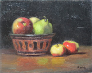 Fruit and African Bowl, 8x10
