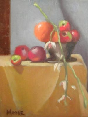 Fruit with Stem, 10x8
