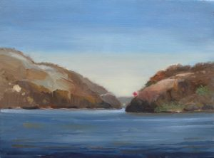 Hudson River, at West Point, 12x16