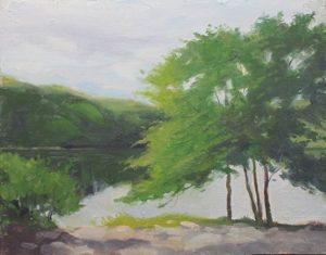 Lake Kanawauke, 14x18