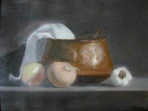 Onions, 14x18