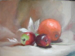 Orange and Plums