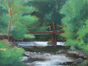 Peekskill Hollow Creek, 12x16