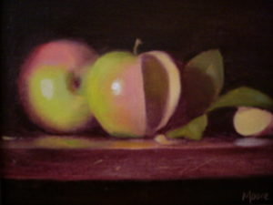 Pink Apples, 8x10