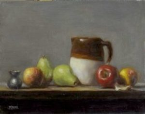 Pitcher with Fruit Row, 14x18