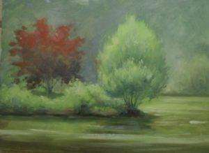 Pond at Kirkridge, 12x16