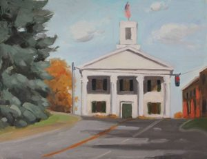 Putnam County Town Hall, 14x18