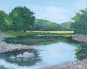 Ramapo River, 16x20