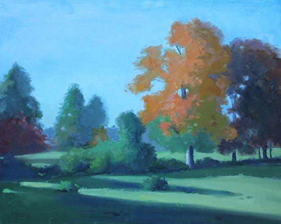 Saunders Farm, Fall, 16x20