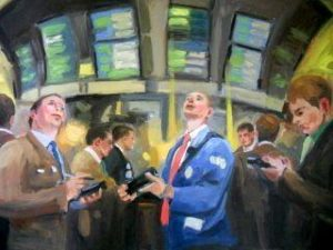 Stock Exchange, 24x36