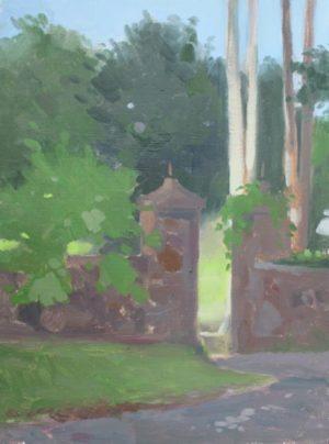 Stone Fence, 16x12