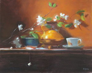 Tea Kettle, 16x20