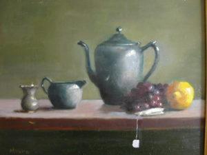 Teapot with Lemon II, 14x18