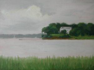 Three Mile Harbor at East Hampton, 11x14