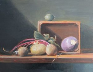 Vegetable House, 14x18