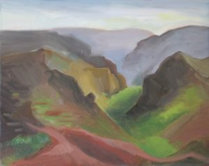Waimea Canyons, 16x20