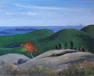 Early fall, Bear Mountain summit