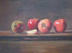 Fall Apple Row