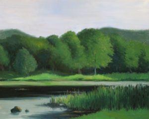 Pond near Ringwood
